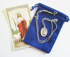 St. Anthony Saint Medal with 24 Inch Necklace