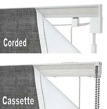 SPEEDY COMPLETE ROMAN BLIND KIT ~ Cord Lock Cord Operated or Cassette Child Safe