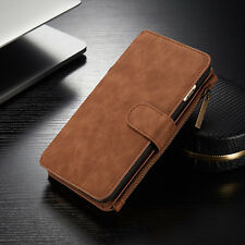 Samsung Galaxy S8 S9 Plus Leather Wallet Magnetic Note 8 Phone Case Cover S7