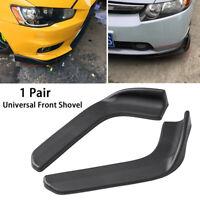 2pcs Universal Car Front Shovel Deflector Spoiler Splitter Diffuser Bumper