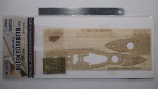 Hunter 1/700 HMS Queen Elizabeth 1918 wooden deck for Trumpeter 05797 (W70060)