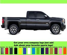 Chevy Silverado truck bedside decals graphics decals pair S-100