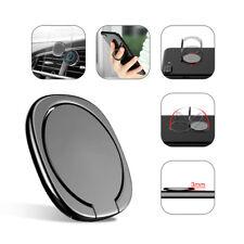 Universal Magnetic Holder Car Mount 360° Finger Ring Desk Bracket For Cell Phone