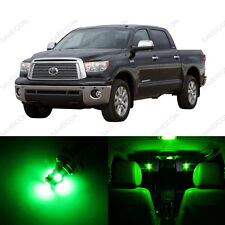 8 x Green LED Interior Lights Package For 2000 - 2004 Toyota Tundra