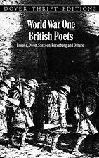 World War One British Poets: Brooke, Owen, Sassoon, Rosenberg and Others (Unabri