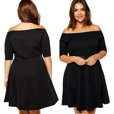One Shoulder Party Plus Size Dresses for Women