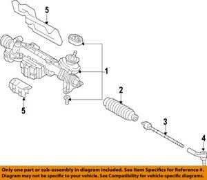 VW VOLKSWAGEN OEM 12-15 Passat Steering Gear-Outer Tie Rod End 1K0423812J