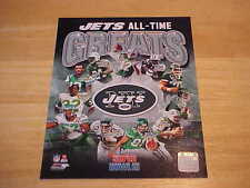 New York Jets All Time Greats Officially LICENSED 8X10 Photo FREE SHIPPING3/more