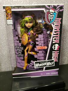 CLAWDEEN WOLF POWER GHOULS MONSTER HIGH DOLL TARGET EXCLUSIVE MATTEL Y7299 NRFB