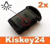 2x Auto Schlüssel Gehäuse für OPEL AGILA MERIVA CORSA C COMBO ASTRA Reparatur