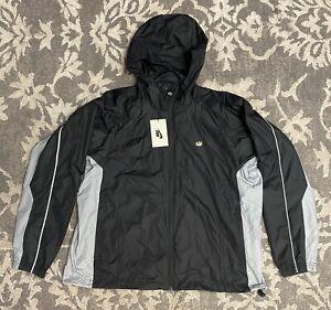 Nike NikeLab TN Tuned Air Hooded Track Jacket Black Mens Sz Medium AR5793-010