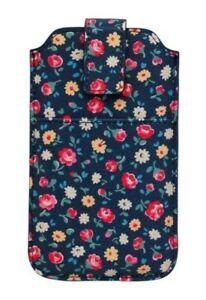 KATH KIDSTON BNIB Universal Phone Slip Pouch Navy Floral Suit iPhone /Samsung