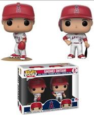 FunKo Pop! Los Angeles Angles Shohei Ohtani Set of 2 MLB Baseball Figure New