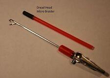 Dreadlock needle Micro Hair Braiding Braid wig track Tool Latch Hook extension