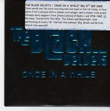 (EB217) The Black Velvets, Once In A While - 2005 DJ CD