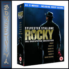 ROCKY - THE UNDISPUTED COLLECTION (6 Disc Box Set) - ***BRAND NEW DVD BOXSET**