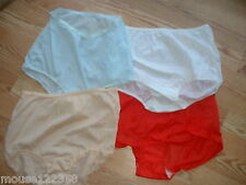 Vintage size 14  panties with lace design  4 pair new old stock