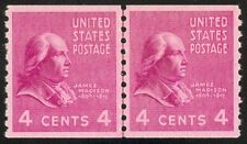 843 - 4c Prexie Line Pair - Fault Free Mint Never Hinged