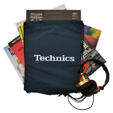 DMC DJ - Technics Wax-Sac - Multi Purpose Drawstring Bag - Navy White Logo