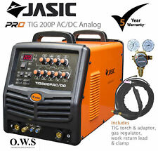 Jasic ** TIG 200P AC/DC Analog ** Pro TIG / MMA Process Inverter Welder