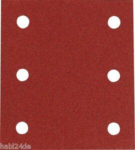 10 Stück Makita Schleifpapier Klett 102 x 114mm Klett-Schleifstreifen