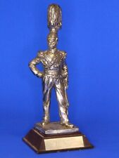 Royal Hampshire pewter military figurine - 17th Rgt Light Lancers 1823 *[18050]