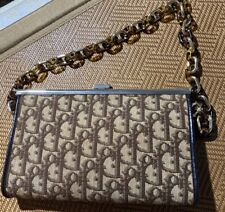 Vintage authentic Christian Dior chain Bag!Rare find style!!! Collection Pieces