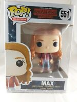 Television Funko Pop - Max with Skateboard - Stranger Things - No. 551