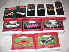 11 Hallmark 1991-2001 Classic American Cars Series 1st thru 11th in Series