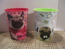 Official Doug the Pug Cup - Valentine & Easter - Plastic 16 oz. Cups