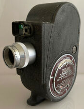 Vintage 1940s Bell & Howell Filmo Sportster Double Run 8mm Clockwork Cine Camera