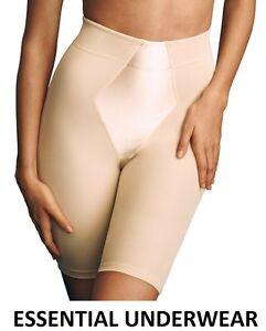 FIRM CONTROL SLIMMING SHORTS SHAPEWEAR LONG LEG BODYSHAPER, BEAUFORME, M - XXL