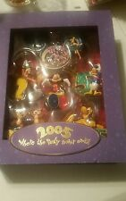 NEW Disney Storybook Ornament Set- 2005 where the party never ends