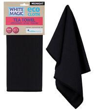 White Magic Eco Cloth Tea Towel Midnight (Carton of 6)