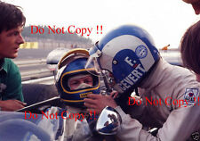 Francois Cevert & Ronnie Peterson Early Career Portrait Photograph 1