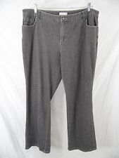 """COLDWATER CREEK Womens 20W (2X) Black Cotton Jeans Pants 40""""W x 33L"""