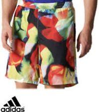 Adidas Men's Shorts Aktiv 9IN MultiColour Zip Pocket Running Shorts Jog Fitness
