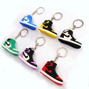 3D Nike Air Jordan Keyring Keychain Shoe New design kids Adult gift Uk