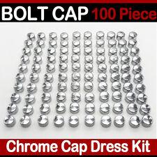 "100PCS ALLEN 1/4"" New Bolt Screw Toppers Cover Caps ABS Kit decorative cap nuts"