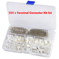 560PC 2.54mm JST-XH Connector Kit Adapter Cable Terminal Socket M/F 2/3/4/5 PIN