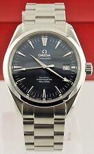 PRESTIGE OMEGA SEAMASTER AQUA TERRA 2504.80 CO-AXIAL AUTOMATIC MEN'S BLUE WATCH