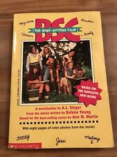 The Babysitters Club: The Movie Child's Paperback Chapter Book VGUC