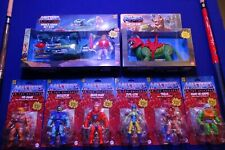 Masters Of The Universe Origins He-Man Complete Wave 1 Set Figure Lot NEW