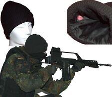Gorro De Lana punto Bundeswehr konvolut 20 piezas idz BW Unión Mercancía B NEGRO