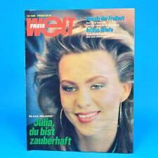 Freie Welt 12/1989 DDR-Zeitschrift Miss UdSSR Buran Josefuv Dul Kriegspost Paris