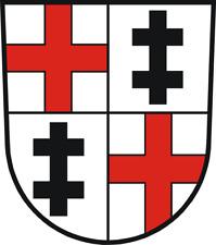 Wappen von  Merzig  Bügelbild, Aufbügler, Markenqualität