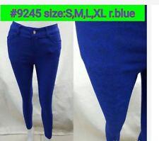 LADIES ROYAL BLUE PANTS #9245 SIZE EXTRA LARGE
