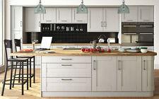 Grey Shaker Wilton Oakgrain, Rigid Built Kitchens, Traditional Modern Kitchen