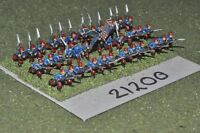 15mm ACW / union - american civil war small infantry 36 figures - inf (21200)