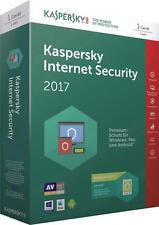 Kaspersky Internet Security 2017 1PC  1Geräte 1 Jahr Vollversion DE-Lizenz  ESD